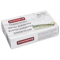 Sardines à l'huile Dontapas