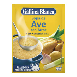 Soupe Gallina Blanca Riz...