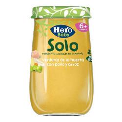 Pot pour bébé Hero Verduras...