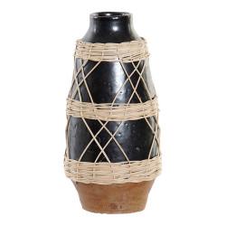 Vase DKD Home Decor Noir...