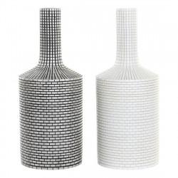 Vase DKD Home Decor Blanc...