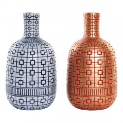 Vase DKD Home Decor Bleu...