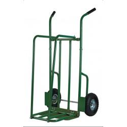 Chariot à bûches roues gonflables charge 250kgs RIBILAND