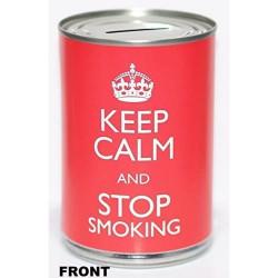 Tirelire Keep Calm Rouge...